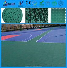 Hot sale used basketball sport court PP interlocking flooring material