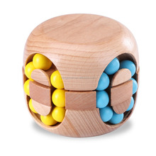 Brain Teasers, Jakpak Wood IQ Games Puzzle Toy for Kids Adult Puzzles Brain Toy Wooden Intelligence Development Puzzle Cube Logi