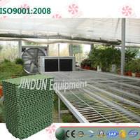 Energy saving Paper material Water cooling pad for Vegetables planting