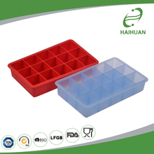 Competitive Price 100% Food Grade Silicone 15 Cavity Ice Cream Tray Silicone Ice Cube Tray