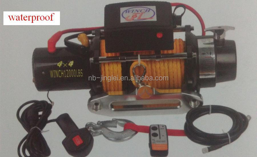 12000NSLBS NINGBO 12v waterproof winch forestry winch gear winch