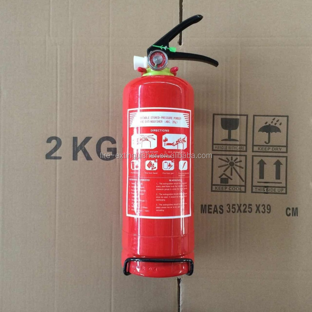 fire fighter equipment 2kg fire extinguisher cheap price for sale
