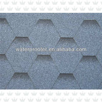 Blue Color Asphalt Shingle Roofing