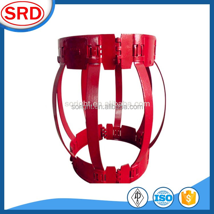 API Downhole Tool Non-welded Bow Spring Casing Centralizer