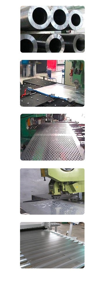 hexagonal perforated aluminum sheet