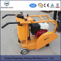 HW-500 diesel concrete cutter floor saw road cutter original manufacture