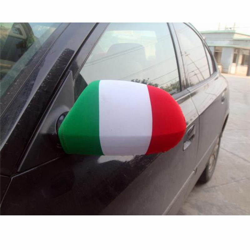 Newest Italy flag for car mirror with different colour