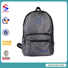 2017 Polyester Good Quality Colorfull Backpack School Bag