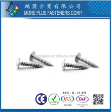 Made in Taiwan M3X8 Galvanized Modified Truss Head Self Tapping Screw