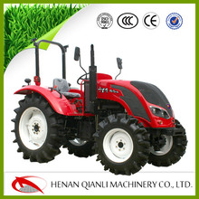 Wheeled tractor manufacturer QLN554 55hp 4wd tractor for farming