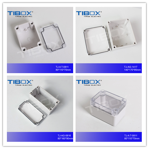 IP66 plastic waterproof electrical enclosure ABS switch box polycarbonate terminal box