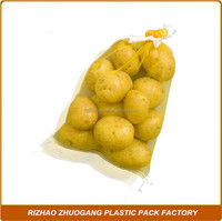 High quality mesh portioning bag for packing vegetables, fruits