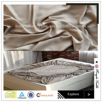 100% bamboo fiber elegant king size hotel percale bed sheets