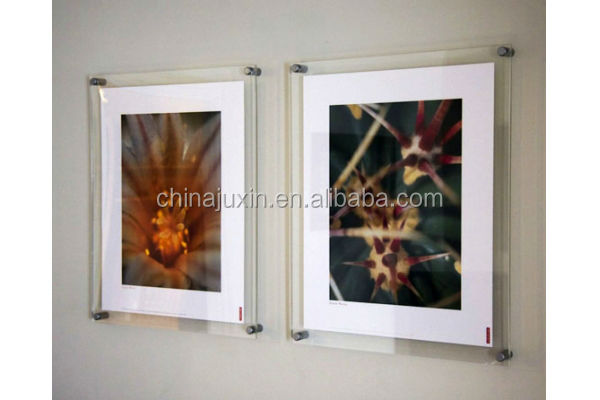 Wall Mounted Graphic Display Acrylic Poster Frame