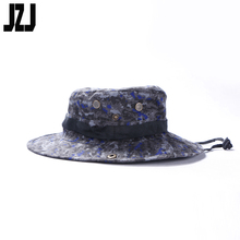 wholesale army breathable blue camo boonie hat