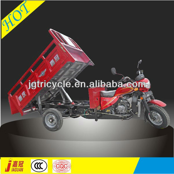 cn useful hydraulic style hopper motor tricycle