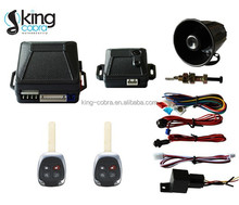 Car alarm system one way auto security