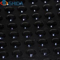 500 шт. 8*2.5 мм самоклеющиеся антипробуксовочная ясно и черный мягкие округлые бамперы силиконовые резиновые ножки, силикагель амортизатор