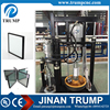 Two component silicone extruder rubber coating machine for double glass processing