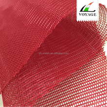 P031 Red Polyester/Spandex/Nylon Clothing Shoe Knitted Fabric