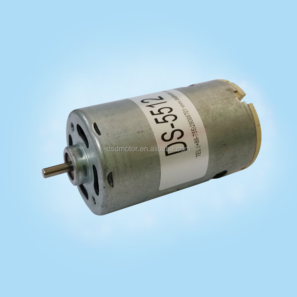 Dsd 5512 110v 220v Dc Motor For Personal Care Products
