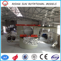 3A-2500 carrousel machine agricultural machinery , oven roto moulding plastic tank in china