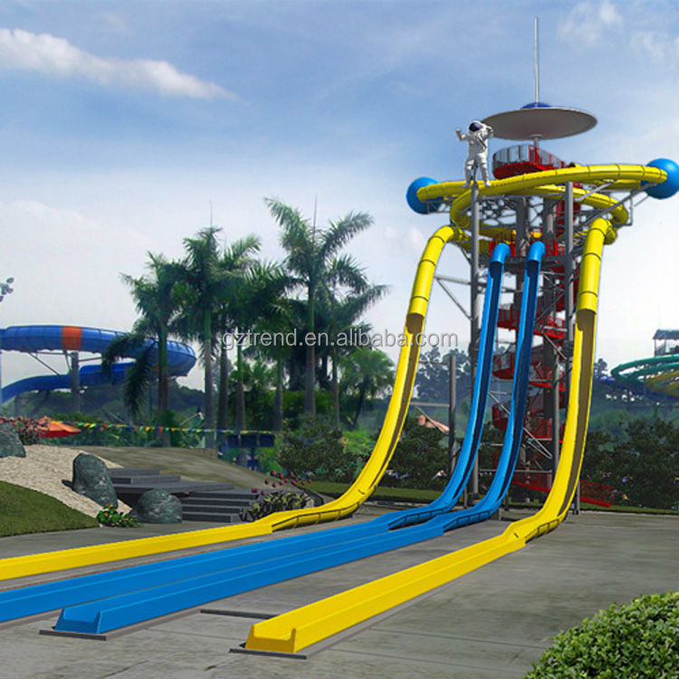Mobile Water Amusement Park with Exciting Water Slide Amusement Games