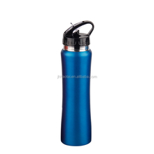 304 custom stainless steel sport water bottle with straw
