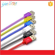 Hard metal head charger line, V8 data cable for LG