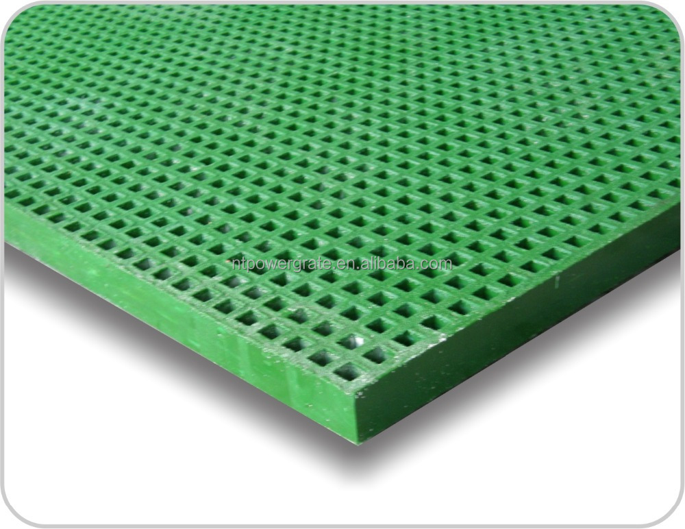 Anti Slip Frp Plastic Floor Grating Buy Plastic Floor