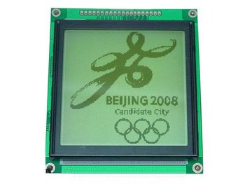 128X128 LCD MODULE graphic(T6963C) high quality