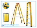 FRP extension ladder, insulation ladder by frp tube, A type ladder