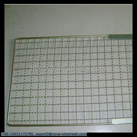 36*43 cm Rectangle Shape Squares Holes Grilling Barbecue Wire Mesh (Gold Supplier / China manufacturer)