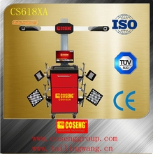 wheel aligner equipment for auto repair garage/ce approved used wheel alignment machine