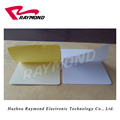 Blank Adhesive Back PVC Cards,CR80 Size Plastic White Card