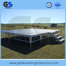 Outdoor adjustable Aluminum Stage for events