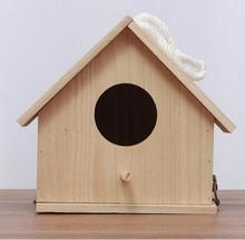 Good Quality pine wood Wooden Bird House