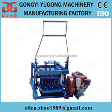 diesel engine manual fly ash brick making machine,manual concrete hollow block machine