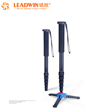 2018 Leadwin hot selling professional A666 flexible digital camera tripod- monopod selfie stick with head from China
