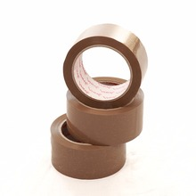 hot sale low/no noise Bopp brown Color Adhesive Packing sellotape Tape