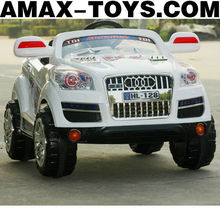 rr-1167128 4ch ride on car Stylish Remote Controlled Electric Ride On Off-road Car for Kids (with Lights and Music)