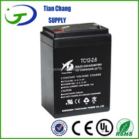 12V 2.6Ah Lead Acid Solar PV UPS SLA VRLA Battery