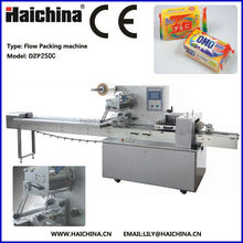 High Quality DZP250C Automatic Pillow Soap Bag Wrapping Machine