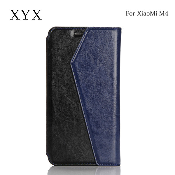 convenient china wholesale mixed colors flip leather wallet for 5.0 inch xiaomi 4 mi 4 m4 android mobile phone case