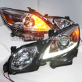 Chrome Housing headlight LED Head Lamps with Projector Lens 2006-2011 SN for Lexus GS300 GS350 GS430 GS450
