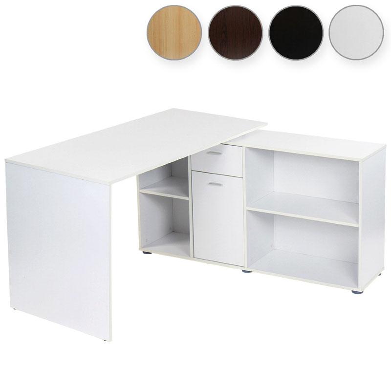 L shaped Office Desk Home Study Computer Laptop Table Desktop Mdf