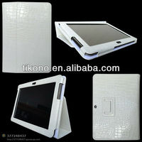 high quality croco stand leather case for samsung galaxy tab 2 p5100 10.1""