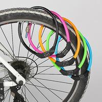 Multicolor Waterproof Combination Bike Padlock Tire Chain Locks