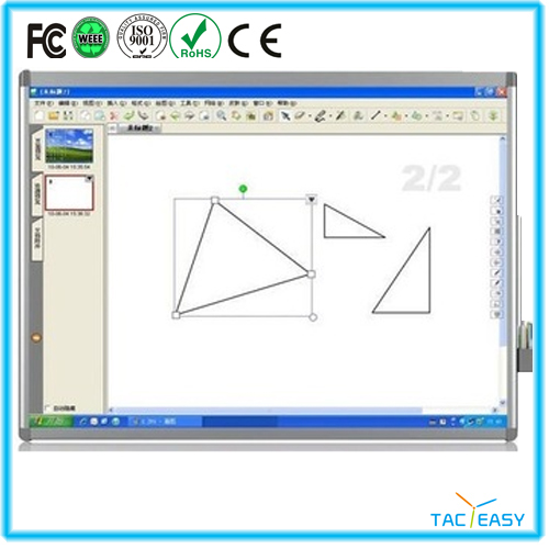 Optical and Multitouch Interactive Whiteboard