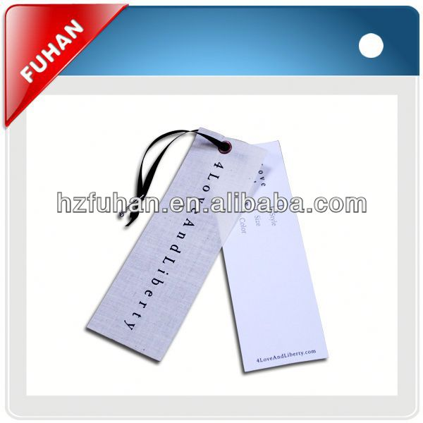 high quality garment leather hang tag for sale